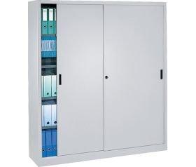 Armoire portes coulissantes 180x200 for Meuble bureau fermeture cle