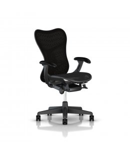 Fauteuil MIRRA 2 Herman MILLER Butterfly Graphite