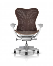 Fauteuil MIRRA 2 Herman MILLER Butterfly Cappuccino