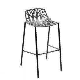 tabouret bas dossier forever lot de 4 ergosi ge. Black Bedroom Furniture Sets. Home Design Ideas