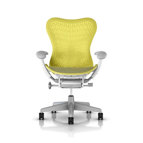 Fauteuil MIRRA 2 Herman MILLER Butterfly Lime Green