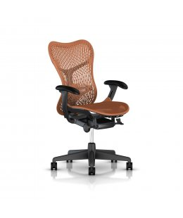 Fauteuil MIRRA 2 Herman MILLER Triflex Urban orange