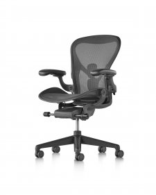 Fauteuil AERON Remastered Taille A Graphite - Herman MILLER