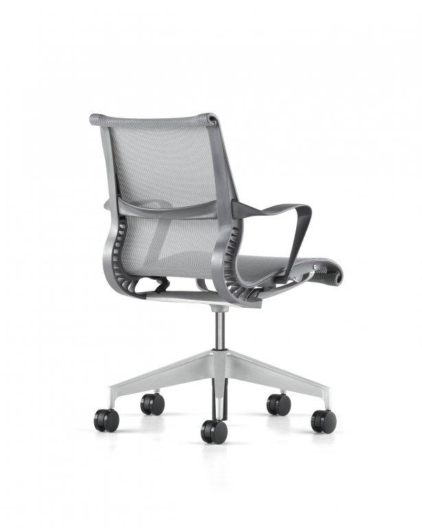 fauteuil setu herman miller slate grey. Black Bedroom Furniture Sets. Home Design Ideas