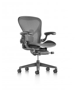 Fauteuil AERON Remastered Taille B Carbon - Herman MILLER