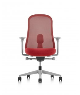 Fauteuil LINO Mineral  Rouge belize - Herman MILLER