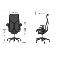 Fauteuil COSM canyon Medium - Herman MILLER